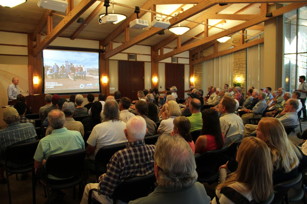 A full house at the 2016 Annual Meeting.