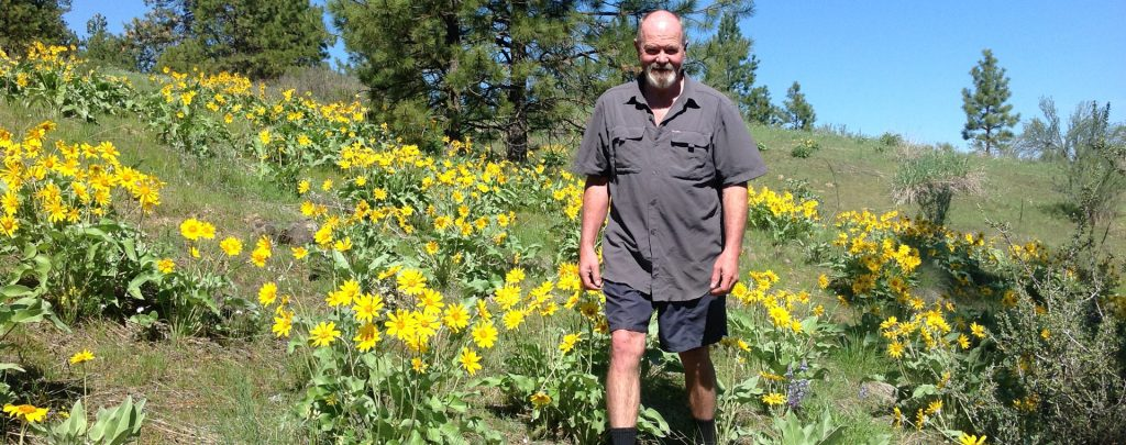 Bill Meyer hikes Pacific Crest Trail for Parkinson's Disease as a part of Pass to Pass.