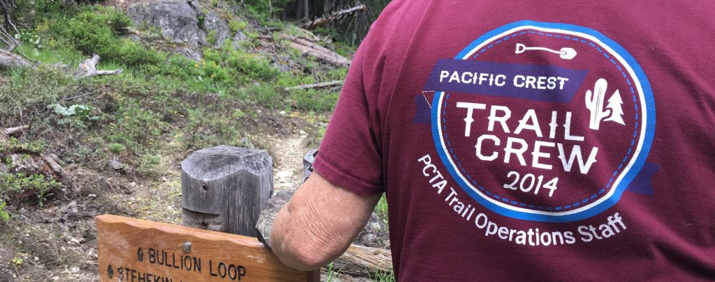 Volunteering in North Cascades National Park, we made a new sign for the Stehekin Ranch.