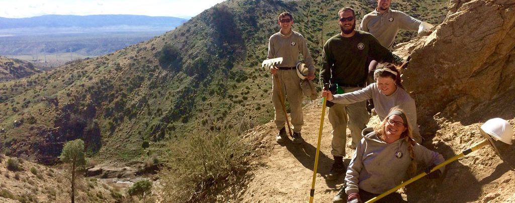 We built the Pacific Crest Trail.