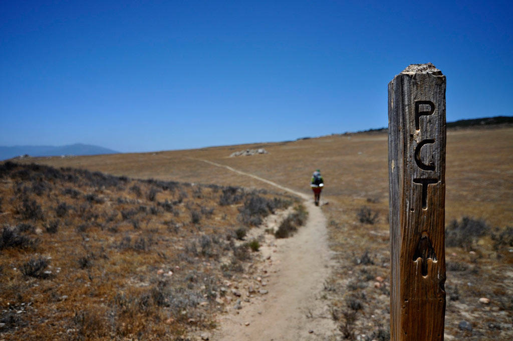 The Pacific Crest Trail near Warner Springs, California. Photo by Carter Chaffey