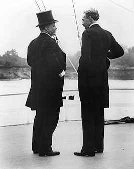 Pinchot and Roosevelt.