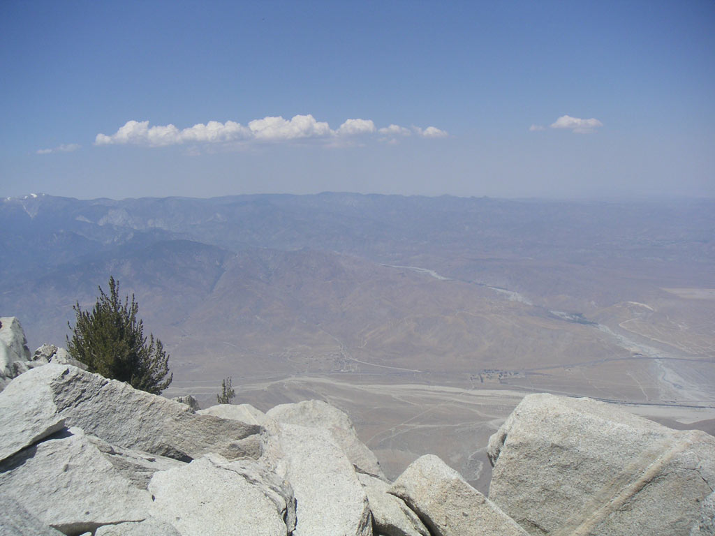 The view from San Jacinto.