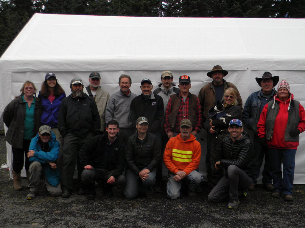 Thank you to the Backcountry Horsemen of Washington, the U.S. Forest Service and the PCTA White Pass Chapter.