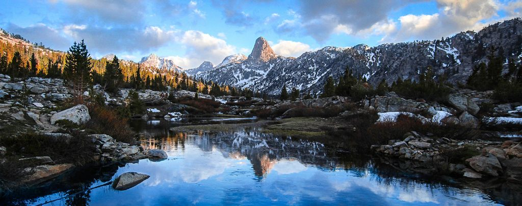 Rae Lakes, Kings Canyon National Park, California. Photo by Brandon Sharpe
