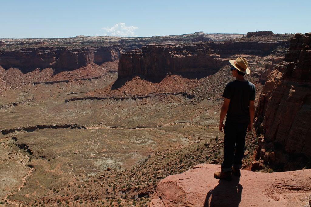 Sabi Rivera near Alcove Spring, Canyonlands National Park