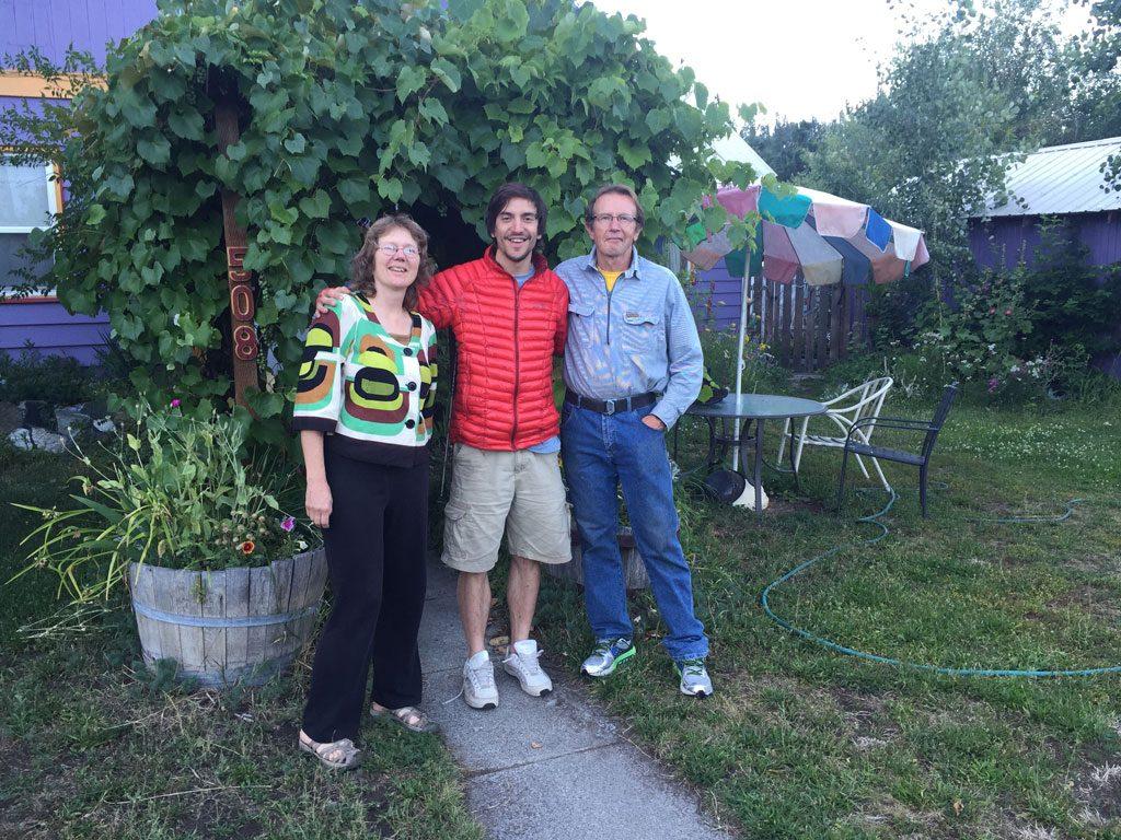 Yep Yep and his wife, the trail angels that put me up in Leavenworth, WA.