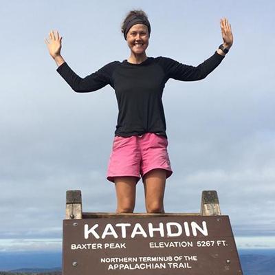 P3 Hiker Laura Johnston