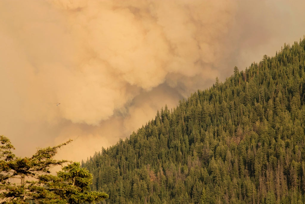 Wildfire smoke is seriously unhealthy. U.S. Forest Service photo