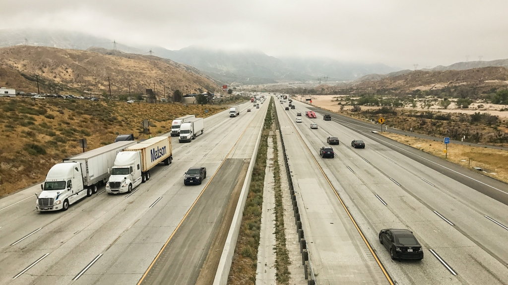 Interstate 15 in Southern California