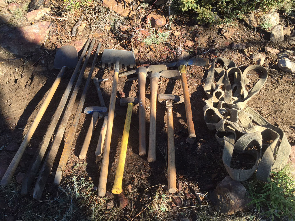 tools for maintaining a trail