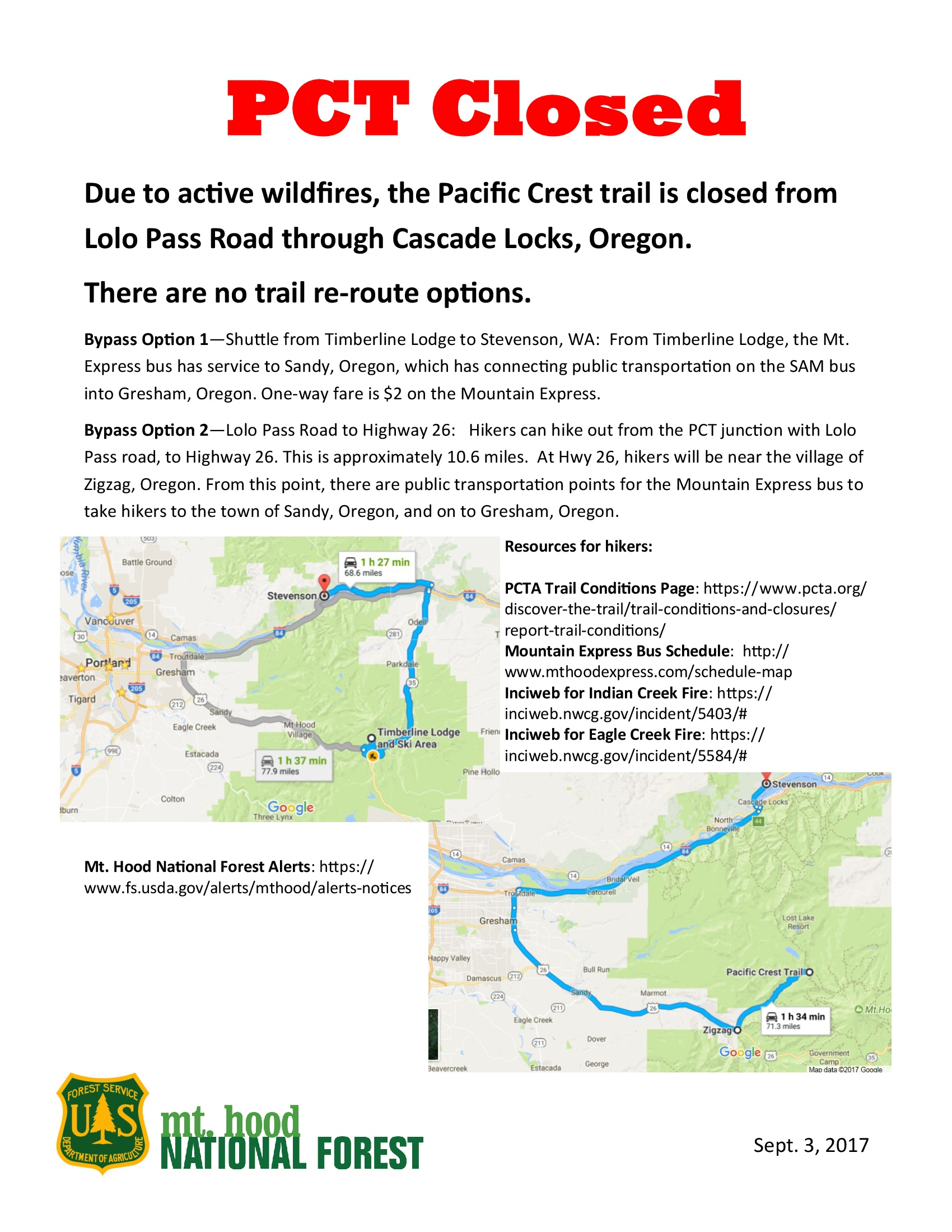 Oregon Archives Pacific Crest Trail Association