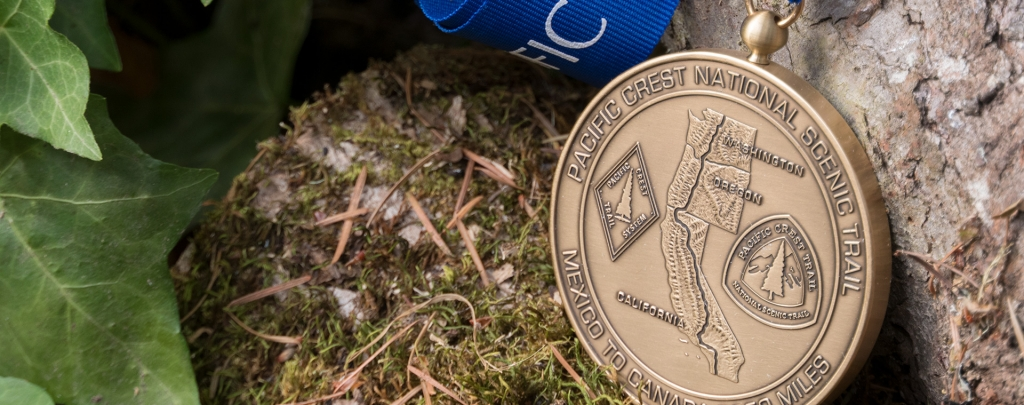 The PCT Completion Medal
