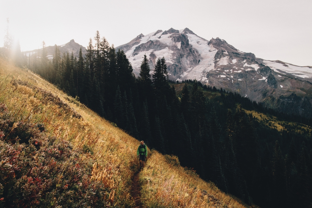 Glacier Peak Wilderness in Washington