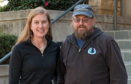 photo of Jennifer Tripp and Mike Dawson