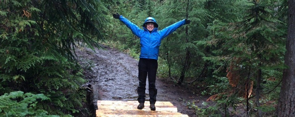 Girl Scout Gold Award in Washington on the Pacific Crest Trail