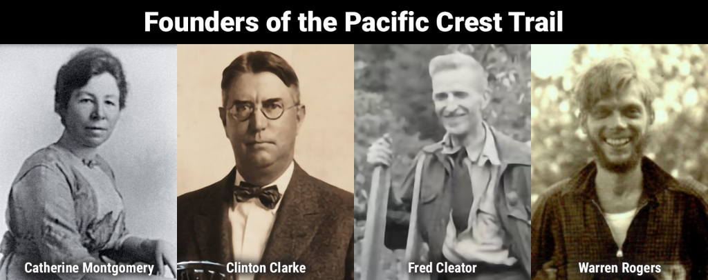 History Pacific Crest Trail Association