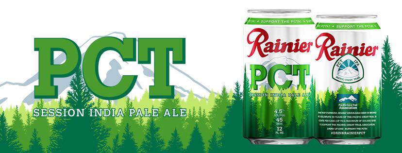 Rainier PCT IPA celebrates 50 years of the Pacific Crest Trail