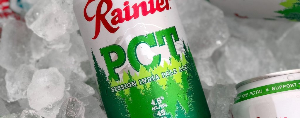 Rainier PCT IPA on ice