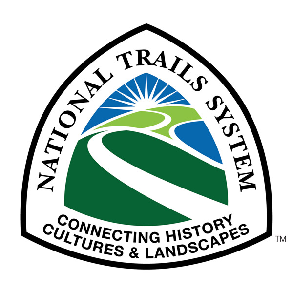 The National Trails System logo.