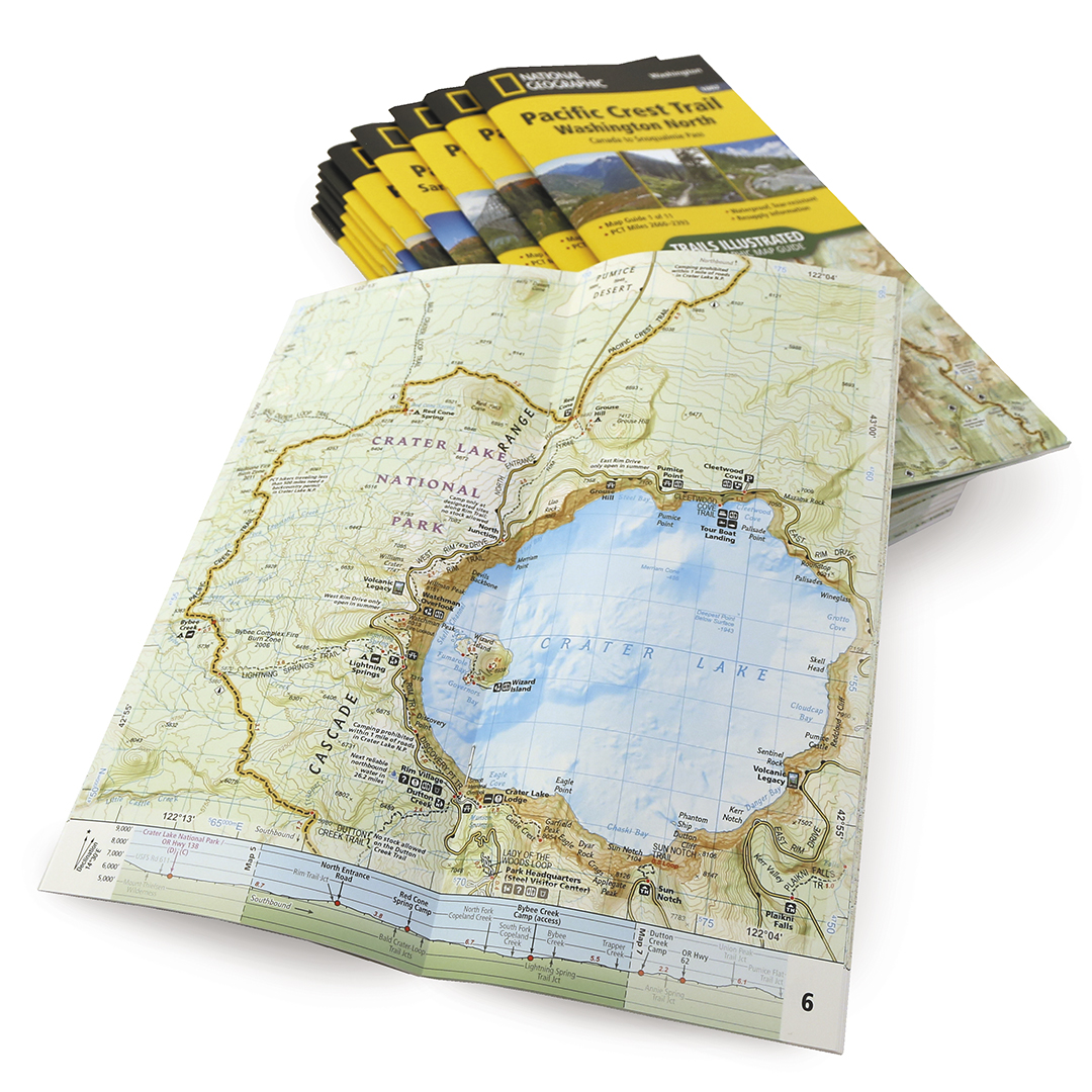 National Geographic partners with the PCTA on new map series ...