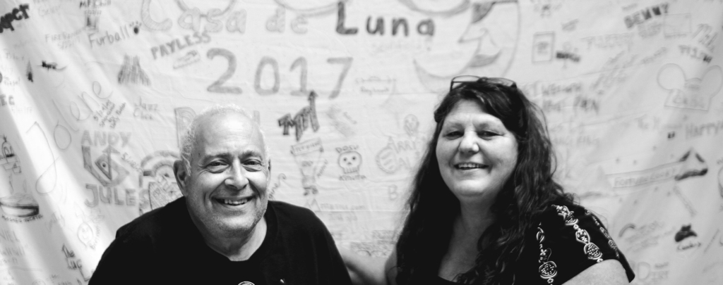 Joe and Terrie Anderson of Casa De Luna, PCT Trail Angels