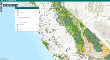 free interactive map of the pacific crest trail