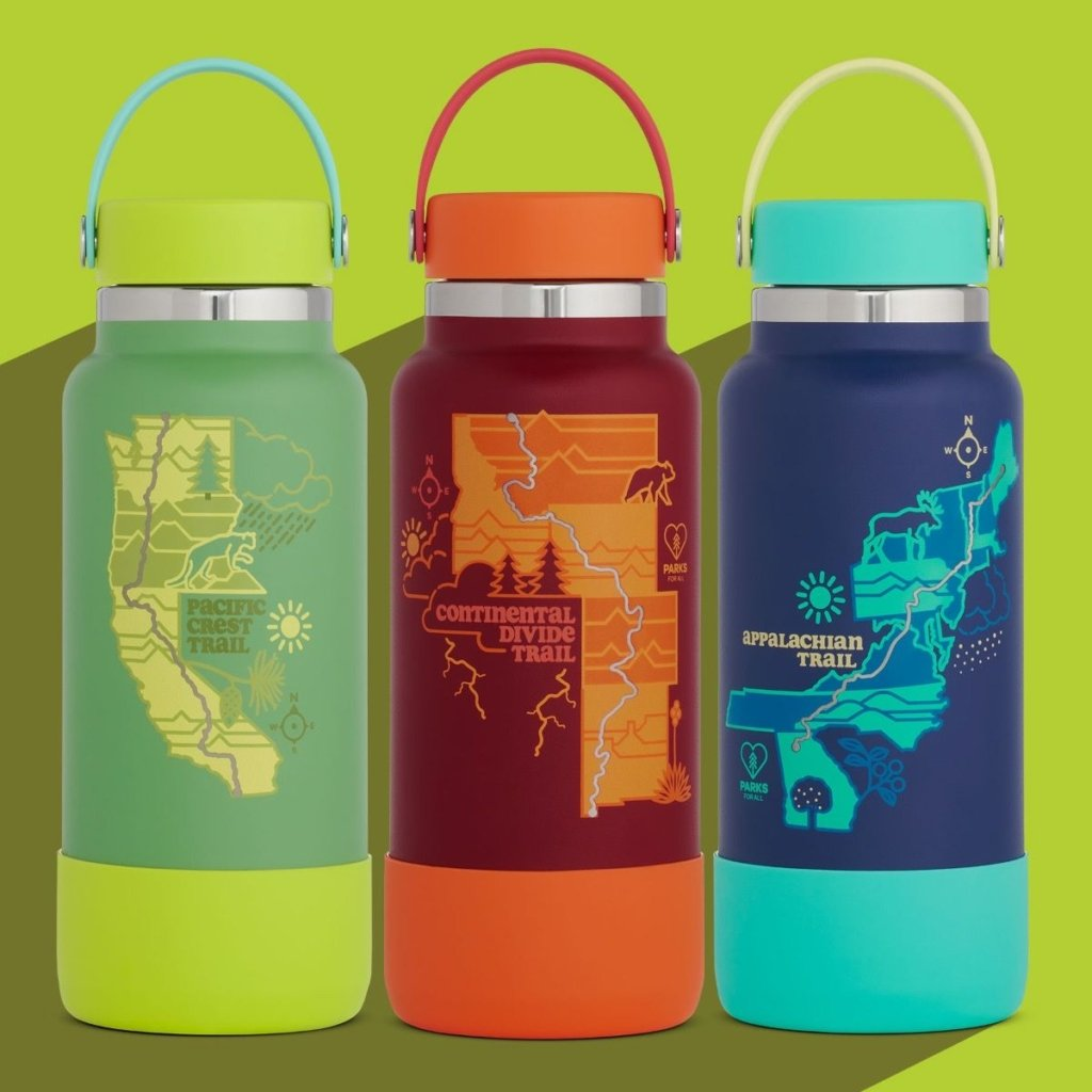Hydro Flask Launches Limited Edition Scenic Trails Bottles